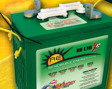 RL 16 Battery 470 Ah 6 V